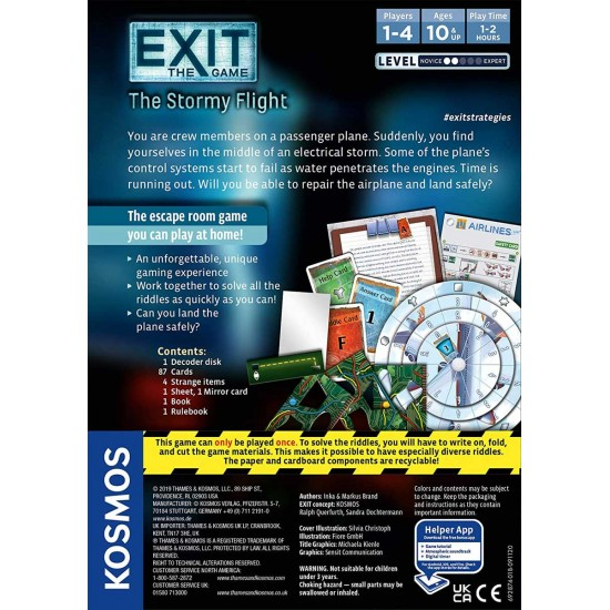 Exit The Stormy Flight