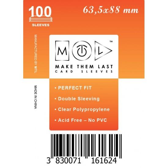 Card Sleeves MTL Soft 63,5x88mm