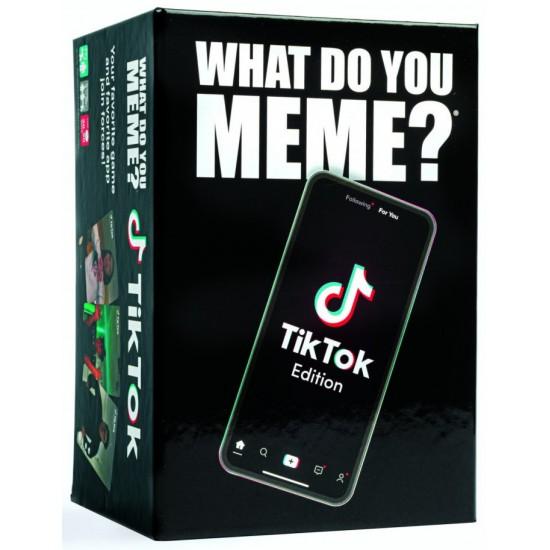 What Do You Meme? TikTok Meme Edition