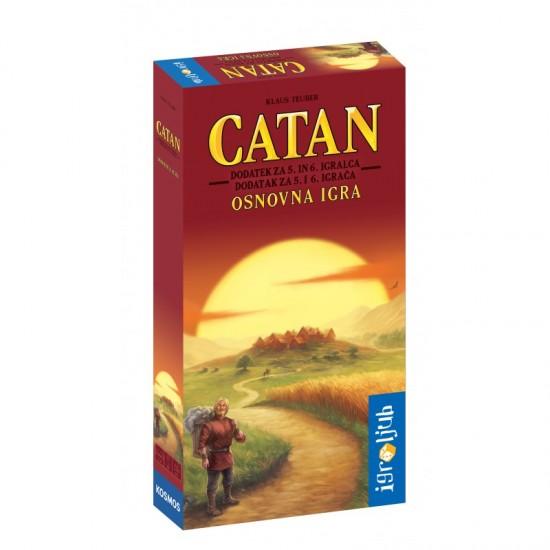 Catan Dodatek za 5. in 6. igralca za osnovno igro