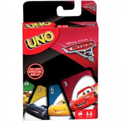 Uno karte Cars 3