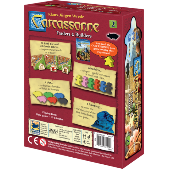 Carcassonne 2 Traders and Builders